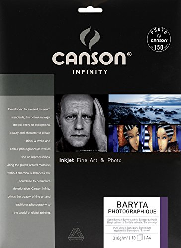 Canson 200002289 Baryta Photographique Packung A4