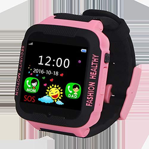 para niños Relojes para niñas Walkie Talkie Relojes para niños Juguetes para niños Un teléfono para niños Relojes Inteligentes multifuncionales, Pero Las Llamadas de Video, Relojes Impermeables,c