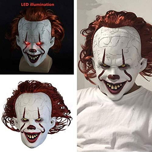 coku Máscara de Payaso, Stephen King'S It Máscara de Payaso de Halloween...