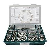 Sortiment DIN 571 Edelstahl A2 Schlüsselschrauben Durchmesser 8,0 mm, 360 Teile ;...