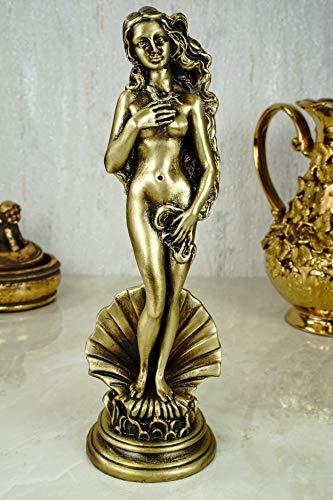 Alabaster Deko Figur Venus von Milo 25 cm bronziert Skulptur Griechenland Aphrodite