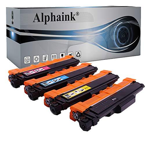 Alphaink 4 Toner con chip Compatibili con Brother TN-247 TN-243 per Stampanti Brother DCP L3550CDW MFC L3770CDW L3750CDW HL-L3230CDW L3270CDW L3210CW L3730CDN L3510CDW L3710CW (4 Toner)