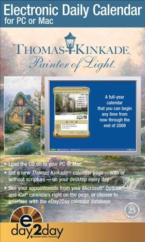 Download Thomas Kinkade Painter of Light™: Electronic Daily 2009 Calendar 0740775634
