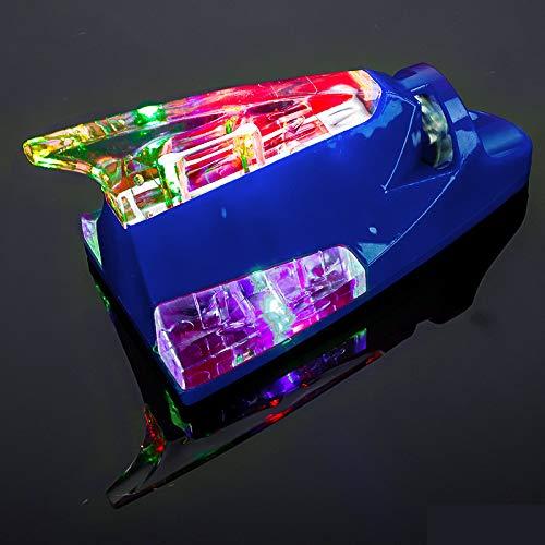 BAOBUM Antena Radio 1 UNID Universal Coche TBART Fin Antena Creativa Energía eólica Aéreas Aéreas Luz LED Antena de Collision Coche para Piezas Exterior del Coche Antena de Coche (Color : H)