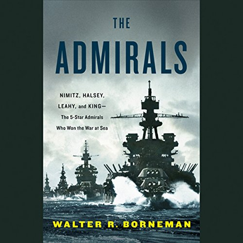 The Admirals audiobook cover art