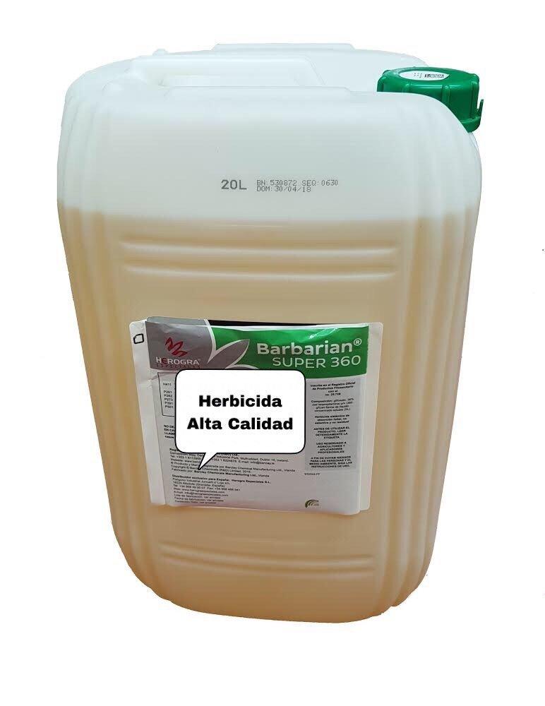 SUPER 360 Herbicida 20 litros Barbariani Maximo Control de Las ...