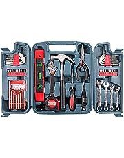 53-delige Tool Set-generaal Household Hand Tool Kit Met Plastic Tool Box Storage Box