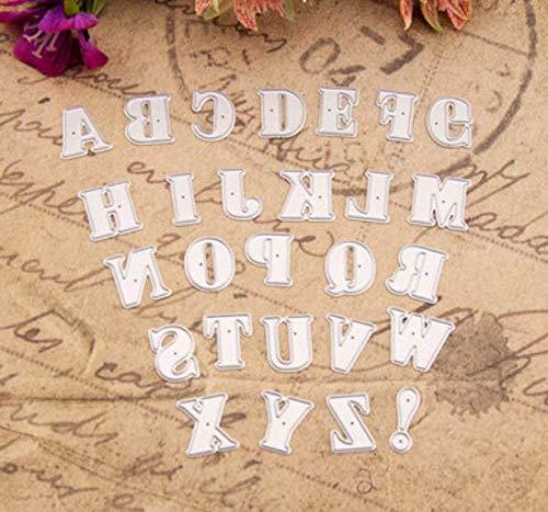RKZM grote letters snijden sjabloon DIY mes model wenskaart album maken gereedschap ponsen sterven voor het maken van kaarten