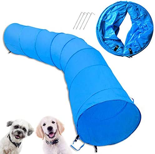 Cossy Home Collapsible Cat Tunnel Tube Kitty Tunnel Pet Toys Peek Hole for Cats Puppy Dogs Kittens product image
