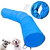 Cossy Home Collapsible Cat Tunnel Tube Kitty Tunnel Pet Toys Peek Hole for Cats, Puppy, Dogs, Kittens, Rabbits,Dog Agility Equipment(3 Size) (118inch)