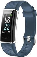 Willful Orologio Fitness Tracker Smartwatch Android iOS Cardiofrequenzimetro da Polso Smart Watch Uomo Donna Bambini...