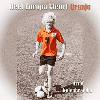 Heel Europa Kleurt Oranje