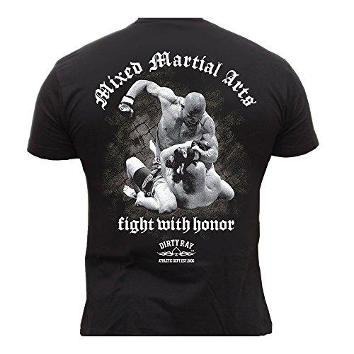 Dirty Ray MMA Fighter Herren Men's T-Shirt DT4 (M)