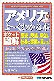 ポケット図解 アメリカ合衆国がよ~くわかる本 (Shuwasystem Beginner's Guide Book)