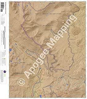 Mammoth Mountain, California 7.5 Minute Topographic Map - Waterproof Paper