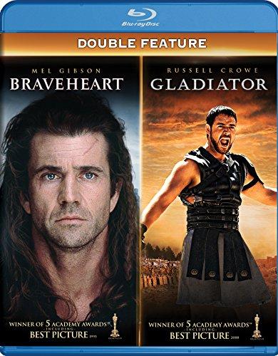 Braveheart / Gladiator (4 Blu-Ray) [Edizione: Stati Uniti] [Italia] [Blu-ray]