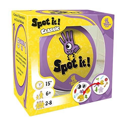 Spot It! Classic Card Game | Game for Kids | Age 6+ | 2 to 8...