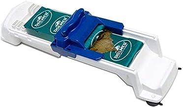 آلة لف أوراق العنب زرقاء/بيضاء 11.2 × 3.9 × 4.7 بوصة