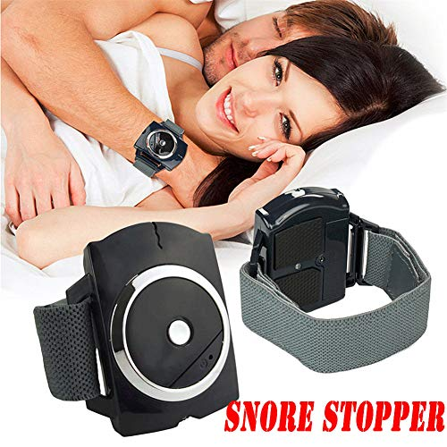 Hzlsy Pulsera Antironquido Pare el Ronquido Reloj Inteligente de Pulsera Antirronquidos la Mejor Solución de Sueño Saludable Anti Snoring Dispositivo de Dilatador