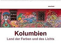 Kolumbien - Land der Farben und des Lichts (Wandkalender 2022 DIN A2 quer): Die Highlights Kolumbiens in beeindruckenden Panoramaaufnahmen (Monatskalender, 14 Seiten )