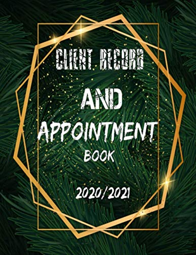 Client Record AND Appointment Book 2020/2021: CLIENT SERVICE Customer Appointment Management System Goodreads Visitor Register Book Nail Client ... Log Book with Client Record Books Customer