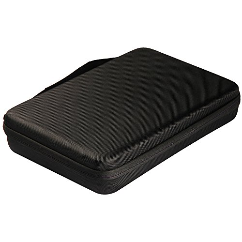 Soyan Hard Carrying Case for GoPro Hero 6/5/4/3+/3/2/1 Sports Action Camera and Accessories (Black, Large)