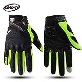 Berrd Gants de moto Suomy Racing Summer Full Finger Protective Protection Moto Guocr Moto Motocric 3 L