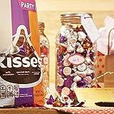 HERSHEY'S KISSES Chocolate Candy Assortment, (Dark, Milk, Caramel), Party Bag