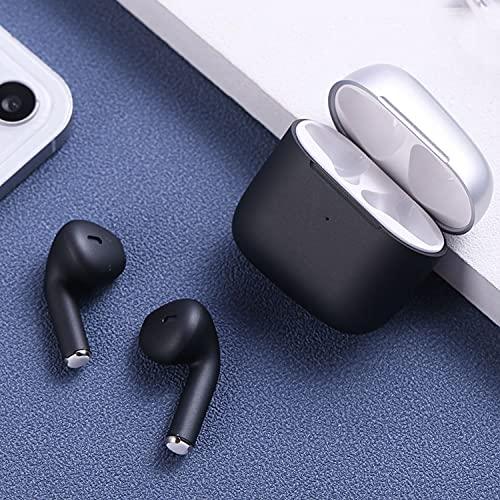 Naack Auricolari Bluetooth senza fili, senza fili, tattili, impermeabili, vivavoce, per corsa,...