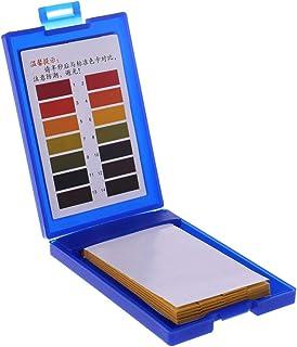 Dabixx 1-14 PH Test Paper Kit de Prueba de Agua para Acuario de Peces de Acuario Tropical 80 Piezas