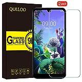 QULLOO Panzerglas für LG Q60 / LG K50, Panzerglas Schutzfolie 9H Hartglas HD Bildschirmschutzfolie Anti-Kratzen Panzerglasfolie Handy Schutzglas Glas Folie für LG Q60 / LG K50
