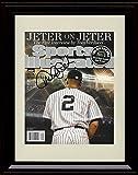 Framed Derek Jeter Sports Illustrated Autograph...