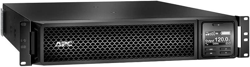 APC UPS 1500VA Smart-UPS Single Phase Online Uninterruptible Power Supply, Rack Mount UPS (SRT1500RMXLA)