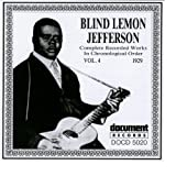 Blind Lemon Jefferson Vol. 4 1929