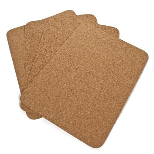 Plain Table Mat - Rectangle, 400 X 300 X 3MM by Cleverbrand by Cleverbrand