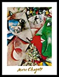 Germanposters Marc Chagall I and The Village 1911 Poster
