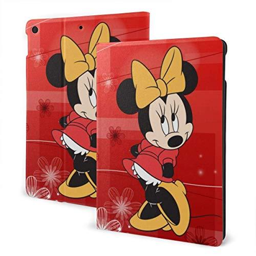 Minnie Mouse Funda para iPad Talla única con soporte para reposo/activación automático Funda de cuero para Ipad Air (3.a generación), Pro 10.5, 7th Generation 10.2 pulgadas IPD-1143