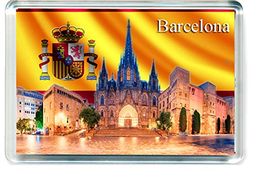 H239 Barcelona Imán para Nevera Spain Travel Fridge Magnet