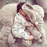 cuscino testa piatta,Anti-soffocamento,cuscini per bambiniPeluche elefante sveglio di un pezzo da 60 cm con cuscini per il naso lungo Cuscini per bambini farciti Giocattoli morbidi per elefanti