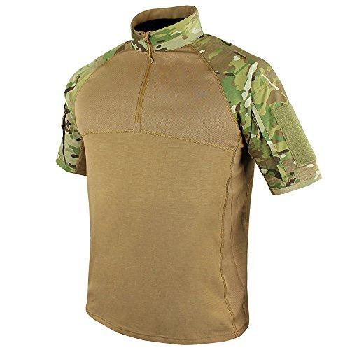 Condor Outdoor Tactical Short Sleeve Combat Shirt (X-Large, Multicam)