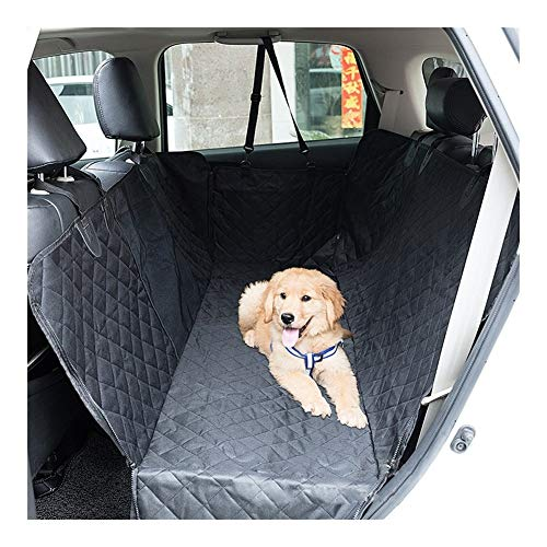 Easy to use Car Pet Cushion Car Rear Dog Waterproof and Anti-dirty Cushion Car Quilted Cotton Padded Dog Cushion Easy to install (Color : Net style)