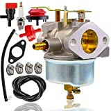 7hp tecumseh carburetor - 632334A Carburetor +spark plug+fuel line for Tecumseh 632370A 632110 632111 632334 632370 632536 640105 7hp 8hp 9hp HM70 HM80 HMSK80 HMSK90 John Deere AM108405 Toro 824 824XL 828 Snow Blower Thrower