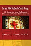 Small Group Bible Study Books