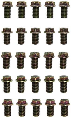KS Tools Ölablassschraube Außen6kant, 17 mm m14 x 1,5 x 23 mm, 25 pièces, 430.2077