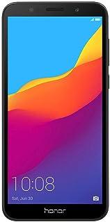 هاتف اونر 7 اس الذكي، 16 جيجا بايت ذاكرة رام، ثنائي شرائح الاتصال، لون اسود