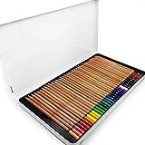 Bruynzeel–Expression Farbe Künstler Buntstifte–Geschenk Dose 72Verschiedene Farben–7705M72
