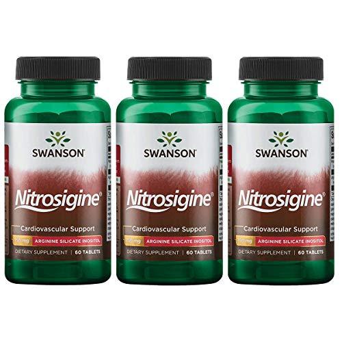 Swanson Arginine Complex 750 mg 60 Tabs 3 Pack