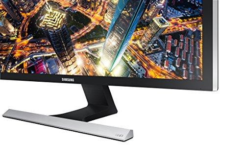 SAMSUNG UE57 Series 28-Inch 4K UHD (3840x2160) Computer Monitor, HDMI, Display Port, Eye Saver Mode, VESA Compatible, FreeSync (LU28E570DS/ZA)