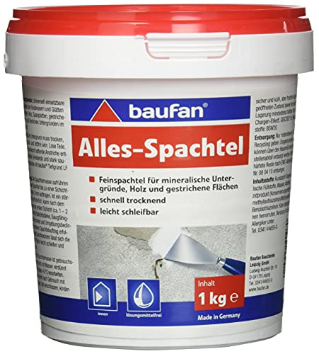 Baufan Alles-Spachtel (Feinspachtel), 1 kg