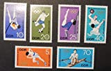 Germany DDR 1966 sport olympics pole vault football gymnastics water polo running rowing mnh sport olympic JandRStamps 154023